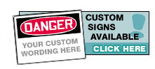 Custom signs available, CLICK HERE!
